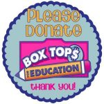 Boxtops Are Collected Every Wednesday Before School!
