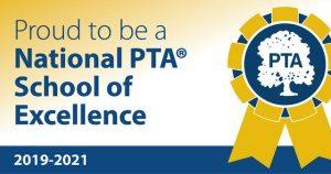 Cherry Run Designated a 2019-2021 National PTA School of Excellence!